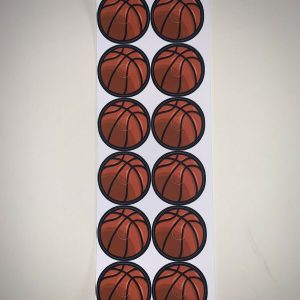 Basketball Target Stickers