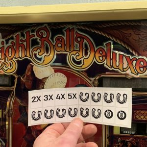 Eight Ball Deluxe Target Stickers