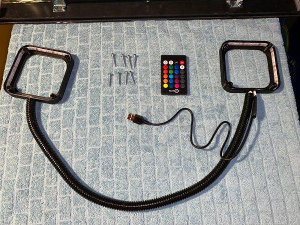 SAM Pinball Machine Speaker LEDs