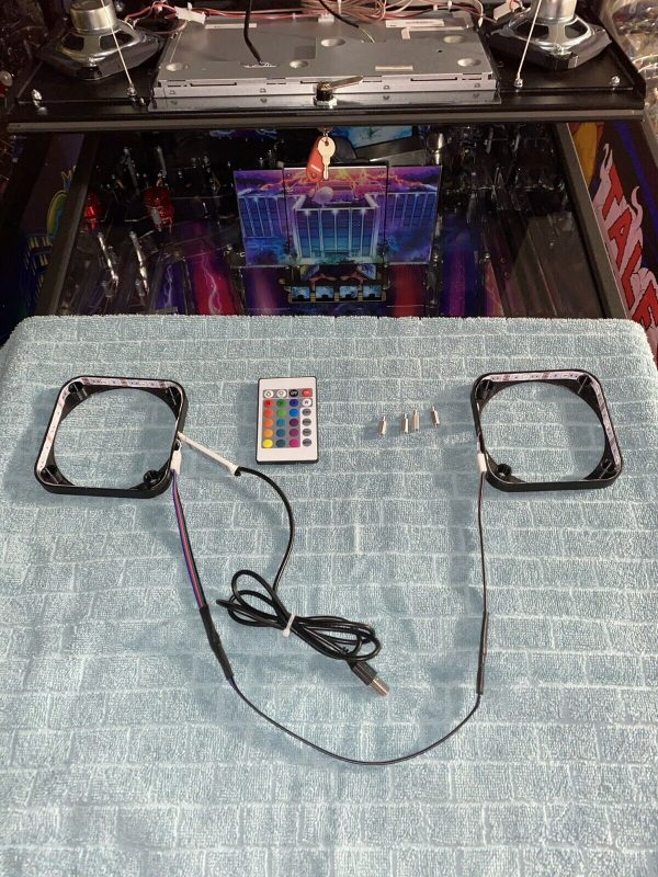 Spike Pinball Machine Speaker LEDs